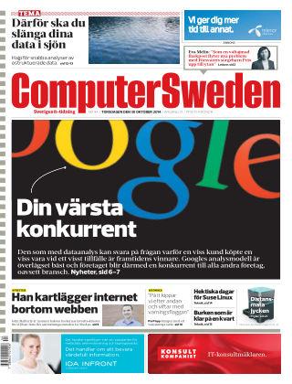 Computer Sweden (Inga nya utgåvor) 2014-10-30