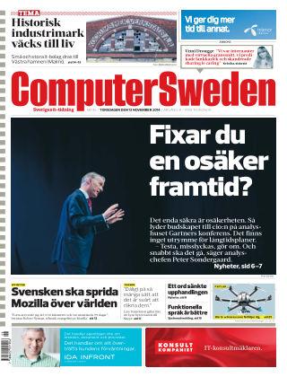Computer Sweden (Inga nya utgåvor) 2014-11-13