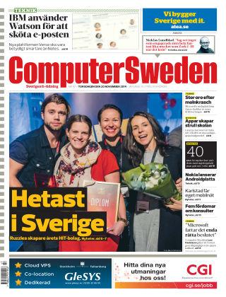 Computer Sweden (Inga nya utgåvor) 2014-11-20