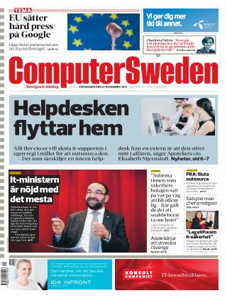 Computer Sweden (Inga nya utgåvor) 2014-11-27