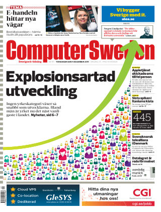 Computer Sweden (Inga nya utgåvor) 2014-12-04