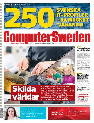 Computer Sweden (Inga nya utgåvor) 2014-12-11