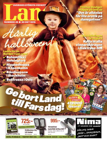 Land October 30, 2015 00:00