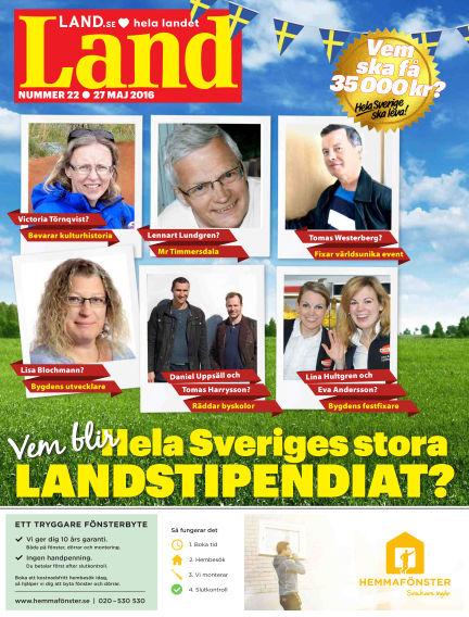 Land May 30, 2016 00:00