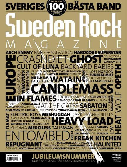 Sweden Rock Magazine January 08, 2013 00:00