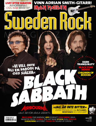 Sweden Rock Magazine 2013-05-21