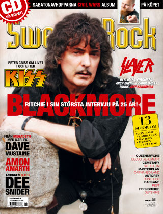 Sweden Rock Magazine 2013-06-11