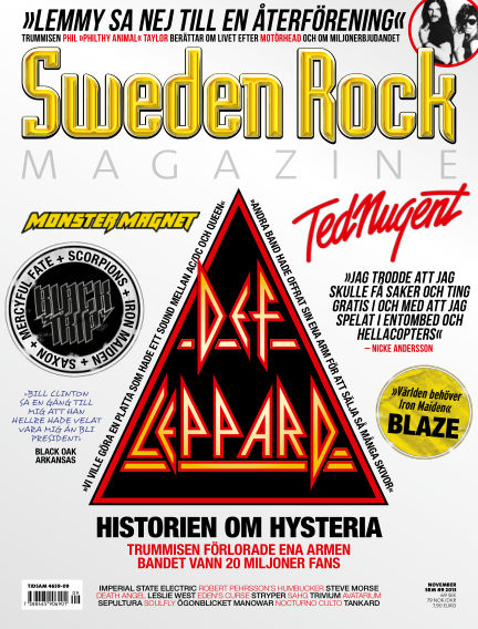 Sweden Rock Magazine October 22, 2013 00:00