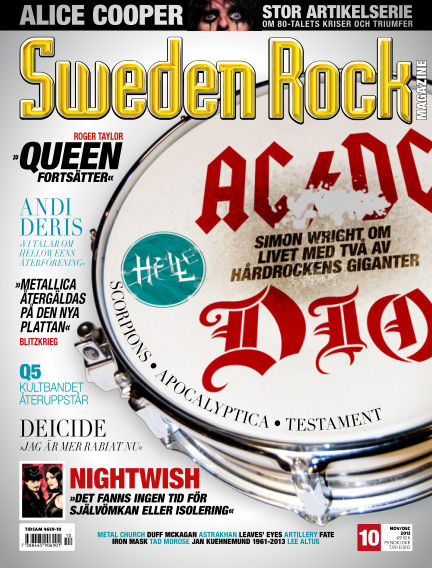 Sweden Rock Magazine November 19, 2013 00:00