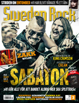 Sweden Rock Magazine 2014-03-25