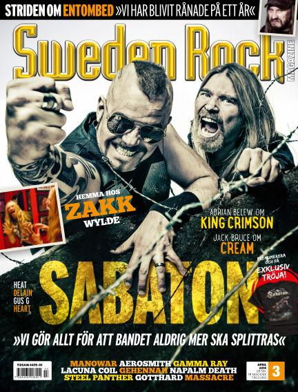Sweden Rock Magazine March 25, 2014 00:00