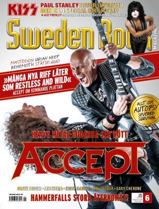 Sweden Rock Magazine 2014-06-10