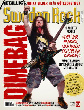Sweden Rock Magazine 2014-11-18