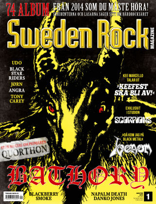 Sweden Rock Magazine 2015-01-13