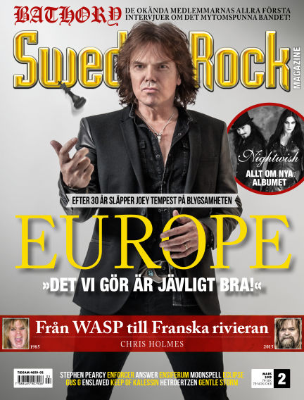 Sweden Rock Magazine February 24, 2015 00:00