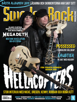 Sweden Rock Magazine 2016-01-12