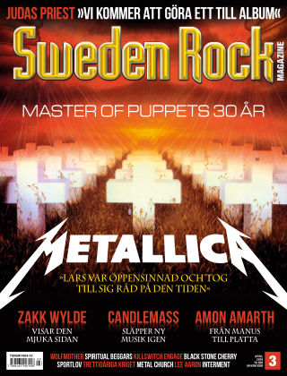 Sweden Rock Magazine 2016-03-22
