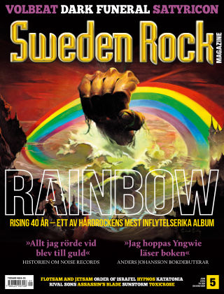 Sweden Rock Magazine 2016-05-17