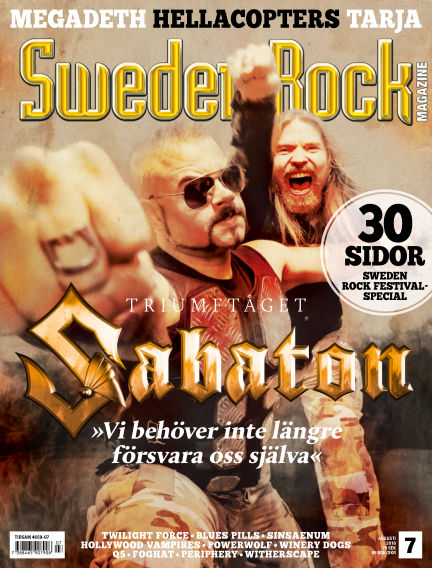 Sweden Rock Magazine July 19, 2016 00:00