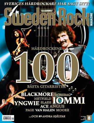 Sweden Rock Magazine 2016-08-23