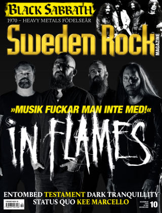 Sweden Rock Magazine 2016-10-18
