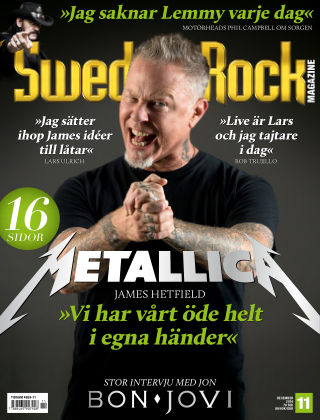 Sweden Rock Magazine 2016-11-15