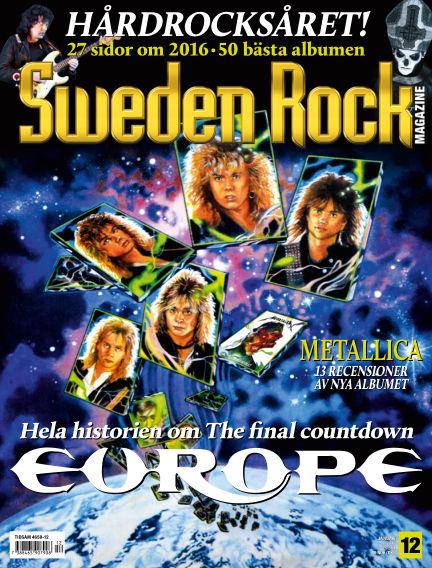 Sweden Rock Magazine December 13, 2016 00:00