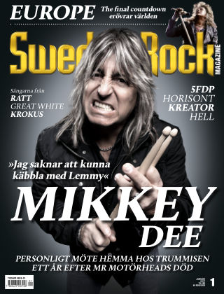 Sweden Rock Magazine 2017-01-10