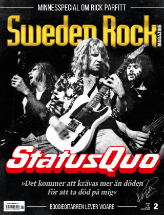 Sweden Rock Magazine 2017-02-21