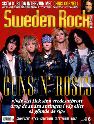 Sweden Rock Magazine 2017-06-13