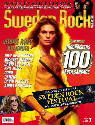 Sweden Rock Magazine 2017-07-18