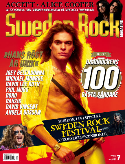 Sweden Rock Magazine July 18, 2017 00:00