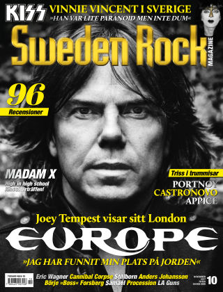 Sweden Rock Magazine 2017-10-17