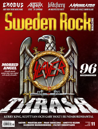 Sweden Rock Magazine 2017-11-14