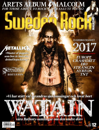 Sweden Rock Magazine 2017-12-12