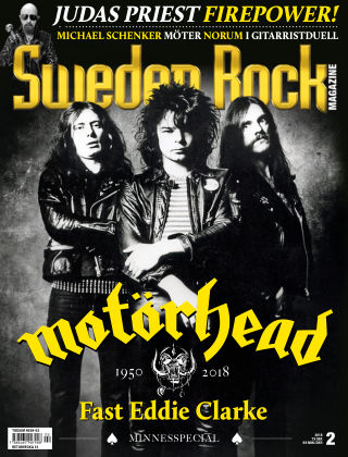 Sweden Rock Magazine 2018-02-20