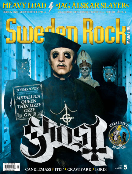 Sweden Rock Magazine May 15, 2018 00:00