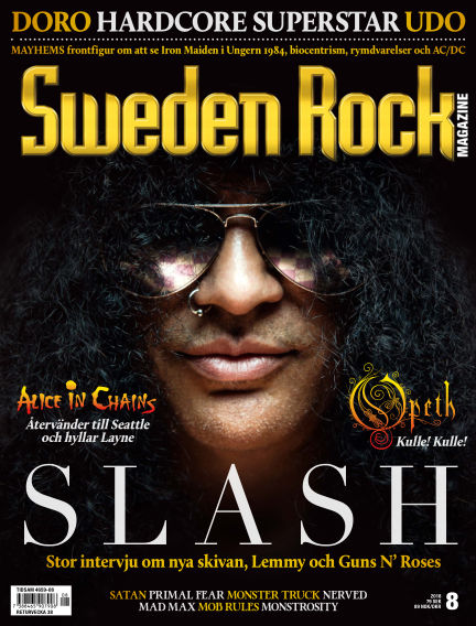 Sweden Rock Magazine August 14, 2018 00:00