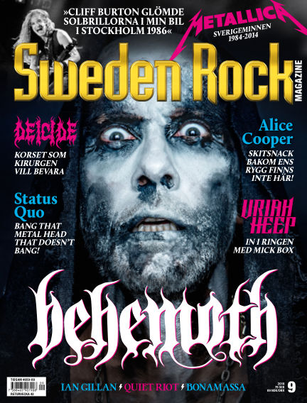 Sweden Rock Magazine September 18, 2018 00:00
