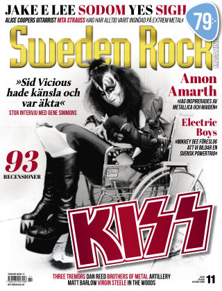 Sweden Rock Magazine 2018-11-13