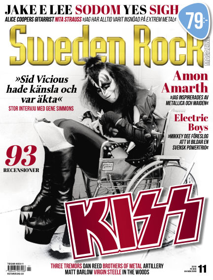 Sweden Rock Magazine November 13, 2018 00:00