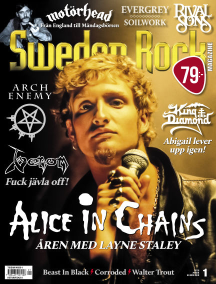 Sweden Rock Magazine January 08, 2019 00:00