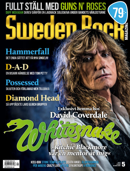 Sweden Rock Magazine May 14, 2019 00:00