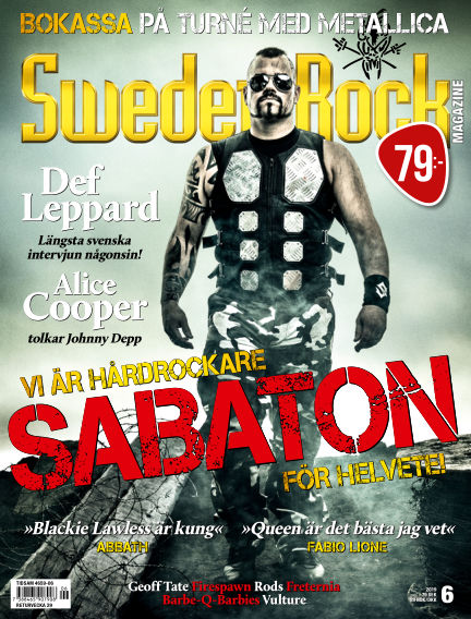 Sweden Rock Magazine June 13, 2019 00:00