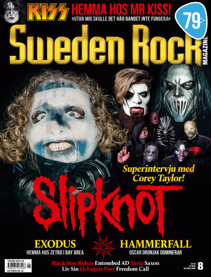 Sweden Rock Magazine August 13, 2019 00:00