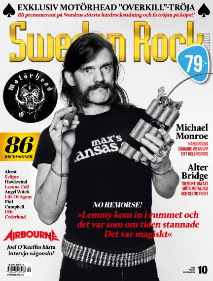 Sweden Rock Magazine October 16, 2019 00:00