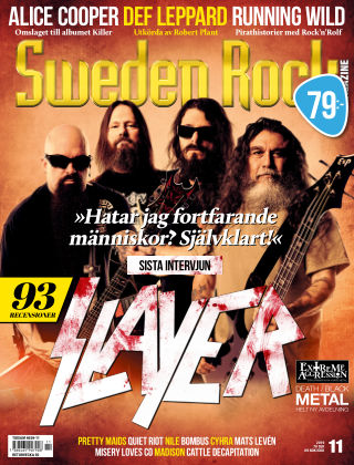 Sweden Rock Magazine 2019-11-12