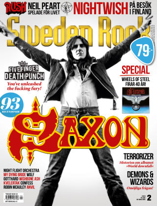 Sweden Rock Magazine 2020-02-25