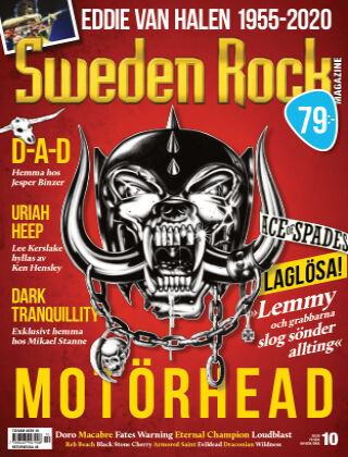 Sweden Rock Magazine 2020-10-27