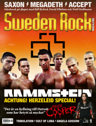 Sweden Rock Magazine 2021-01-19
